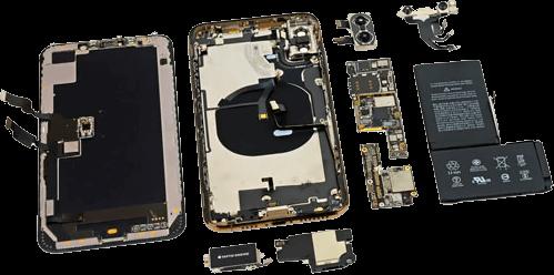 Ремонт плат смартфона Huawei