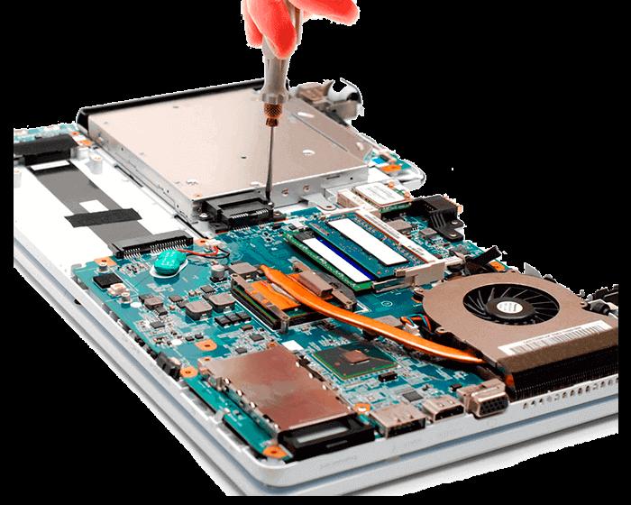 Замена северного моста ноутбука Huawei